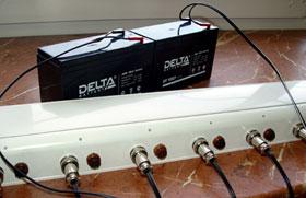 Многоканальное автоматическое зарядное устройство ChAPb-220-12-1000